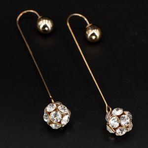 90s Crystal Drop Earrings